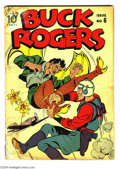 Golden Age (1938-1955):Science Fiction, Buck Rogers #6 (Eastern Color, 1943) Condition: FR. Overstreet 2004GD 2.0 value = $96....