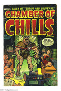 Golden Age (1938-1955):Horror, Chamber of Chills #9 (Harvey, 1952) Condition: VG. Overstreet 2003VG 4.0 value = $25....