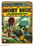Golden Age (1938-1955):Classics Illustrated, Classic Comics #5 Moby Dick First edition (Gilberton, 1942)Condition: FR. Original printing of Herman Melville's Moby Dic...