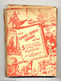 """Golden Age (1938-1955):Classics Illustrated, Classic Comics Gift Box (Gilberton, 1940s). This """"Gift Box"""" fromthe mid-1940s was used by Gilberton as Christmas approached..."""