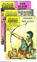 Silver Age (1956-1969):Classics Illustrated, Classics Illustrated German Group (Bildschriftenverlag, 1956-72)Condition: Average VG. The German Classics series, called ...(Total: 11 Comic Books Item)