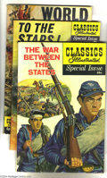 Bronze Age (1970-1979):Classics Illustrated, Classics Illustrated Special Issue Group (Gilberton, 1955-62)Condition: Average VG+. This group features art by Jack Kirby,...(Total: 9 Comic Books Item)