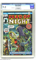 Bronze Age (1970-1979):Horror, Dead of Night #1 (Marvel, 1973) CGC NM/MT 9.8 Off-white pages. JohnRomita Sr. cover. This is the highest-graded copy of thi...