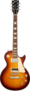 Musical Instruments:Electric Guitars, 2018 Gibson Les Paul Sunburst Solid Body Electric Guitar, Serial #180075167.. ...