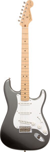 Musical Instruments:Electric Guitars, 2012 Fender Eric Clapton Stratocaster Pewter Solid Body Electric Guitar, Serial #US12024815.. ...