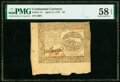 Colonial Notes:Continental Congress Issues, Continental Currency April 11, 1778 $4 PMG Choice About Unc 58 EPQ.. ...