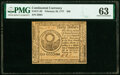 Colonial Notes:Continental Congress Issues, Continental Currency February 26, 1777 $30 PMG Choice Uncirculated 63.. ...