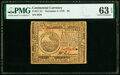 Colonial Notes:Continental Congress Issues, Continental Currency November 2, 1776 $6 PMG Choice Uncirculated 63 EPQ.. ...
