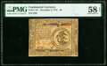 Colonial Notes:Continental Congress Issues, Continental Currency November 2, 1776 $3 PMG Choice About Unc 58 EPQ.. ...