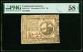 Colonial Notes:Continental Congress Issues, Continental Currency November 2, 1776 $2 PMG Choice About Unc 58 EPQ.. ...