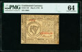 Continental Currency May 9, 1776 $8 PMG Choice Uncirculated 64