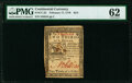 Continental Currency February 17, 1776 $2/3 PMG Uncirculated 62