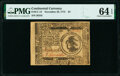 Colonial Notes:Continental Congress Issues, Continental Currency November 29, 1775 $3 PMG Choice Uncirculated 64 EPQ.. ...