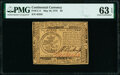 Colonial Notes:Continental Congress Issues, Continental Currency May 10, 1775 $5 PMG Choice Uncirculated 63 EPQ.. ...
