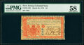 Colonial Notes:New Jersey, New Jersey March 25, 1776 £3 PMG Choice About Unc 58.. ...