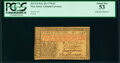Colonial Notes:New Jersey, John Hart Signed New Jersey February 20, 1776 £3 PCGS About New 53.. ...