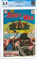 Silver Age (1956-1969):War, Our Army at War #115 (DC, 1962) CGC FN+ 6.5 White pages....