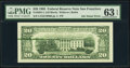 Green Ink Smear on Back Error Fr. 2081-L $20 1995 Federal Reserve Note. PMG Choice Uncirculated 63 EPQ