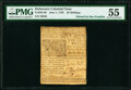 Colonial Notes:Delaware, Delaware June 1, 1759 20s PMG About Uncirculated 55.. ...
