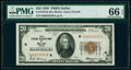 Small Size:Federal Reserve Bank Notes, Fr. 1870-K $20 1929 Federal Reserve Bank Note. PMG Gem Uncirculated 66 EPQ.. ...