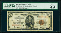 Fr. 1850-K* $5 1929 Federal Reserve Bank Star Note. PMG Very Fine 25