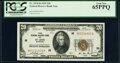 Small Size:Federal Reserve Bank Notes, Fr. 1870-H $20 1929 Federal Reserve Bank Note. PCGS Gem New 65PPQ.. ...