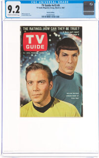 TV Guide V15#9 Detroit Edition (TV Guide Magazine Group, Inc., 1967) CGC NM- 9.2 Cream to off-white pages