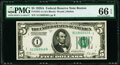 Small Size:Federal Reserve Notes, Fr. 1951-A $5 1928A Federal Reserve Note. PMG Gem Uncirculated 66 EPQ.. ...