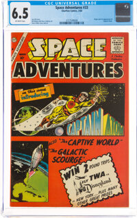 Space Adventures #33 (Charlton, 1960) CGC FN+ 6.5 Off-white pages