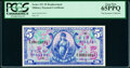 Military Payment Certificates:Series 521, Series 521 $5 Second Printing Replacement PCGS Gem New 65PPQ. ...