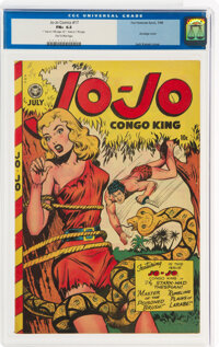 Jo-Jo Comics #17 (Fox Features Syndicate, 1948) CGC FN+ 6.5 Tan to pink pages
