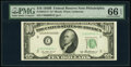 Small Size:Federal Reserve Notes, Fr. 2012-C* $10 1950B Federal Reserve Note. PMG Gem Uncirculated 66 EPQ.. ...