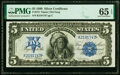 Large Size:Silver Certificates, Fr. 275 $5 1899 Silver Certificate PMG Gem Uncirculated 65 EPQ.. ...
