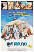 """Movie Posters:Adult, Love Airlines (Cinepix Film Properties, 1978). Folded, Very Fine-. One Sheet (25"""" X 38""""). Adult.. ..."""