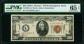 Small Size:World War II Emergency Notes, Fr. 2305 $20 1934A Hawaii Federal Reserve Note. PMG Gem Uncirculated 65 EPQ.. ...