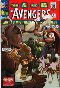 The Avengers Omnibus Vol. 1 Hardcover Signed By Cast Members of the Avengers Film Franchise