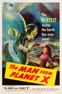 The Man from Planet X Movie Poster