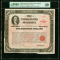 Miscellaneous:Other, $5,000 U.S. Treasury Bearer Bond 1960 PMG Extremely Fine 40.. ...