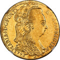 Brazil: Maria I gold 6400 Reis 1793-B AU Details (Removed From Jewelry) NGC