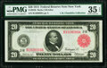 Fr. 953b $20 1914 Red Seal Federal Reserve Note PMG Choice Very Fine 35 EPQ