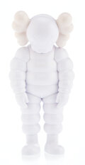 Collectible, KAWS (b. 1974). What Party (White), 2020. Painted cast . 11-1/2 x 5-1/2 x 3-1/4 inches (29.2 x 14 x 8.3 cm). Open Editio...