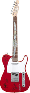 Musical Instruments:Electric Guitars, Eagles Signed Electric Guitar SN #12090084. . ...
