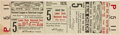 Baseball Collectibles:Tickets, 1926 World Series Game Five Full Ticket. ...