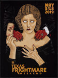 """Movie Posters:Advertising, Texas Frightmare Weekend (Arrow Video, 2019). Rolled, Very Fine. Convention Poster (18"""" X 24""""). Advertising.. ..."""