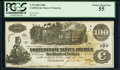Confederate Notes:1862 Issues, T39 $100 1862 PF-4 Cr. 293 PCGS Choice About New 55.. ...