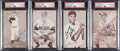 Autographs:Sports Cards, Signed 1947-66 & 1980 Exhibits Baseball Collection (89)....