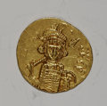 Ancients:Ancient Lots  , Ancients: Lot of two Byzantine gold solidi of Constantine IV....(Total: 2 coins)