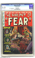 Golden Age (1938-1955):Horror, Haunt of Fear #15 (EC, 1952) CGC VF 8.0 Off-white pages. JackDavis, Jack Kamen, and George Evans art. Overstreet 2004 VF 8....