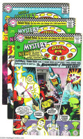 Silver Age (1956-1969):Mystery, House of Mystery Group (DC, 1966-71) Condition: FN/VF. This groupencompasses both the title's superhero era and its return ...(Total: 10 Comic Books Item)