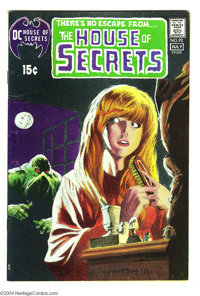 House of Secrets #92 (DC, 1971) Condition: FN. The first appearance of Swamp Thing, with art by Bernie Wrightson. Listed...